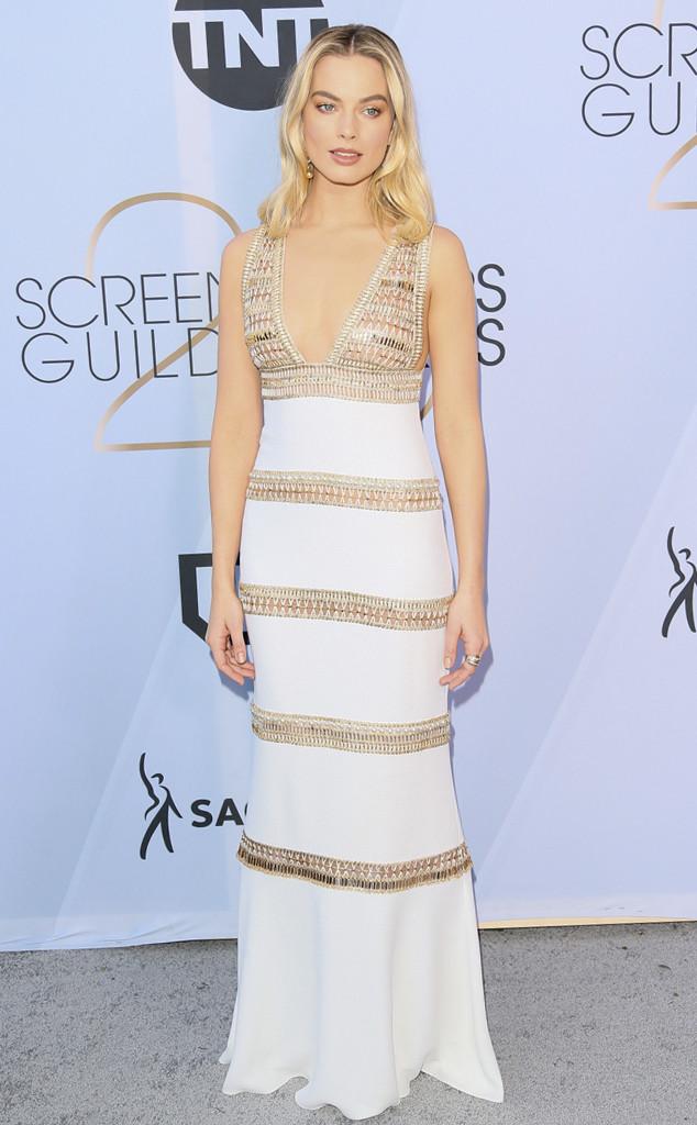 Margot Robbie, 2019 SAG Awards, Red Carpet Fashions