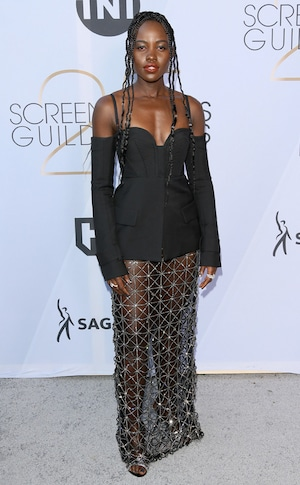 Lupita Nyong'o, 2019 SAG Awards, Red Carpet Fashions