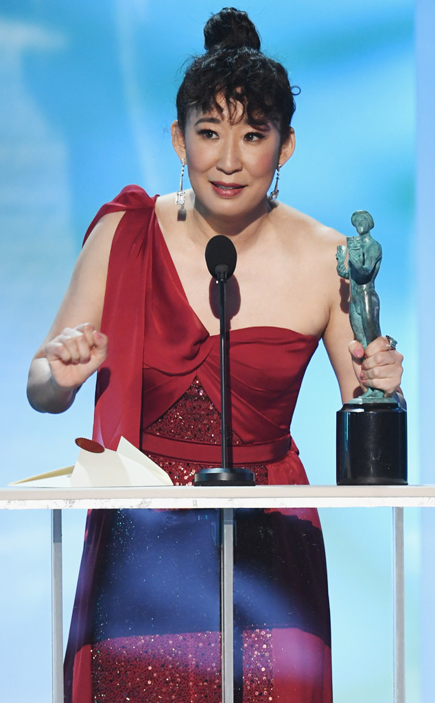 Sandra Oh, 2019 SAG Awards, Best Actor, Drama Series
