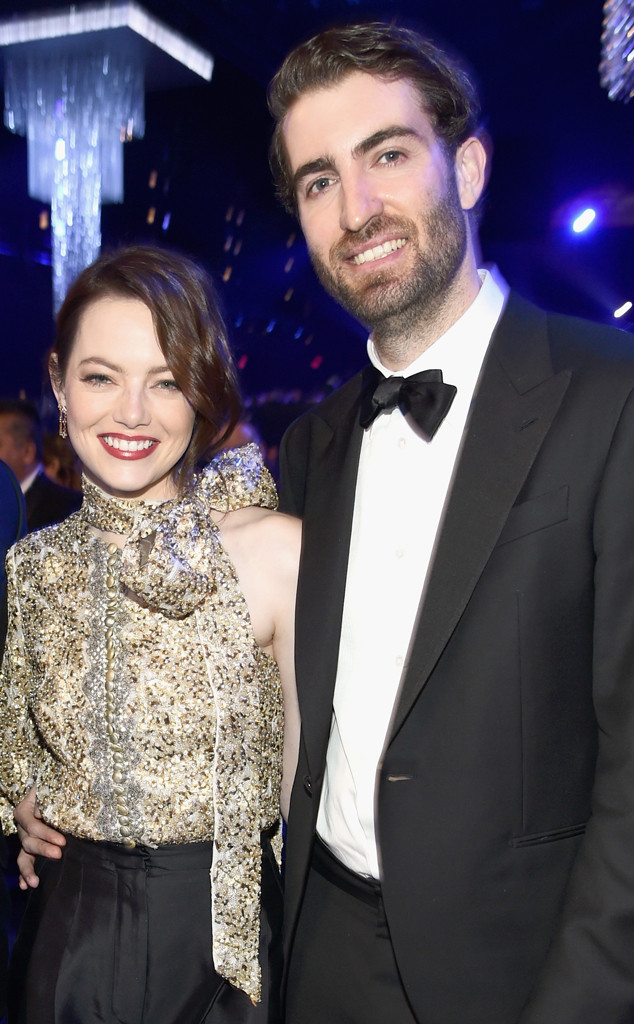 Emma Stone, Dave McCary, SAG Awards, Show
