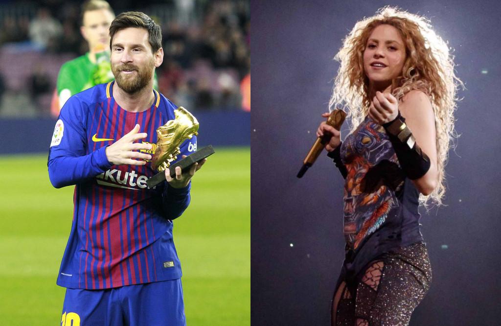 Shakira, Messi
