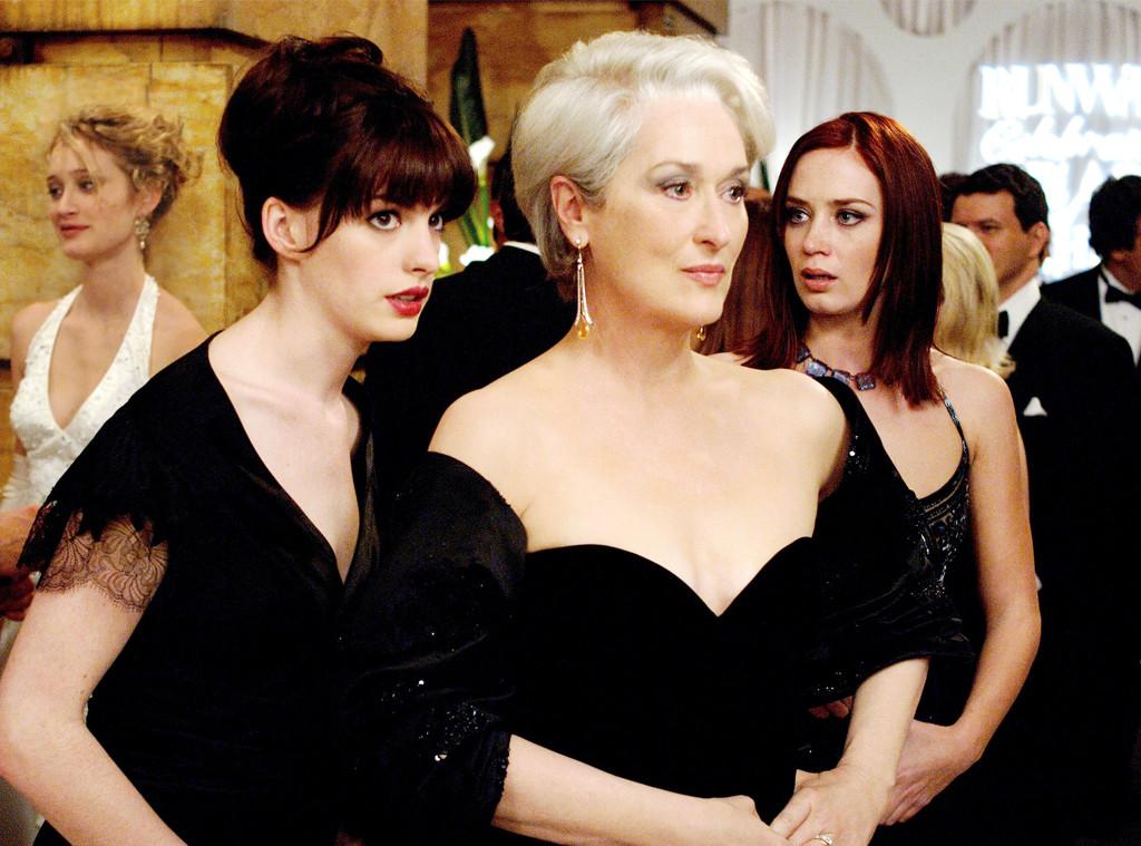 Anne Hathaway, Meryl Streep, Emily Blunt, The Devil Wears Prada