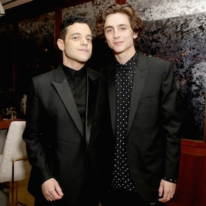 Rami Malek, Timothée Chalamet, 2019 SAG Awards, After Party