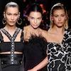 Hailey Baldwin, Bella Hadid, Kendall Jenner