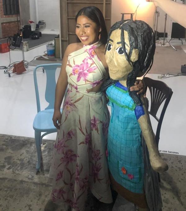Yalitza Aparicio, piñata