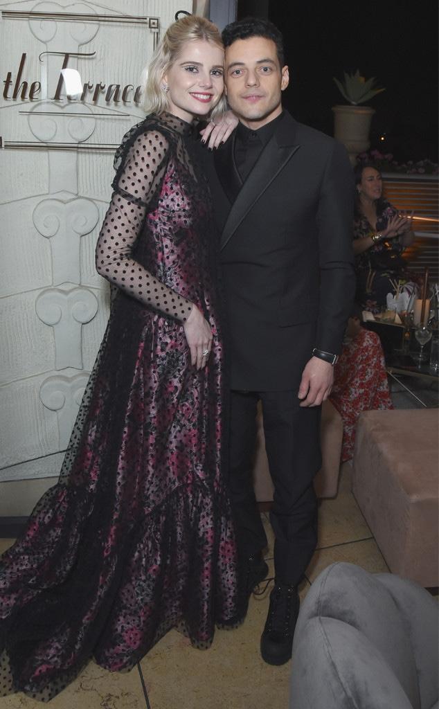 Lucy Boynton, Rami Malek , 2019 SAG Awards, After Party