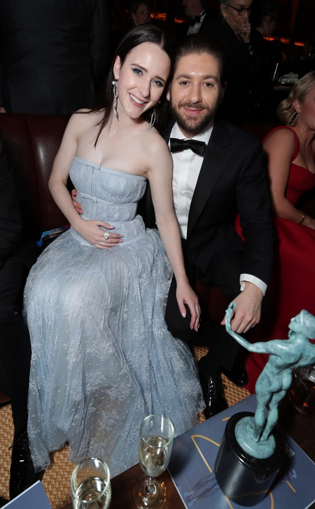 Rachel Brosnahan et Michael Zegen from SAG Awards 2019 ...