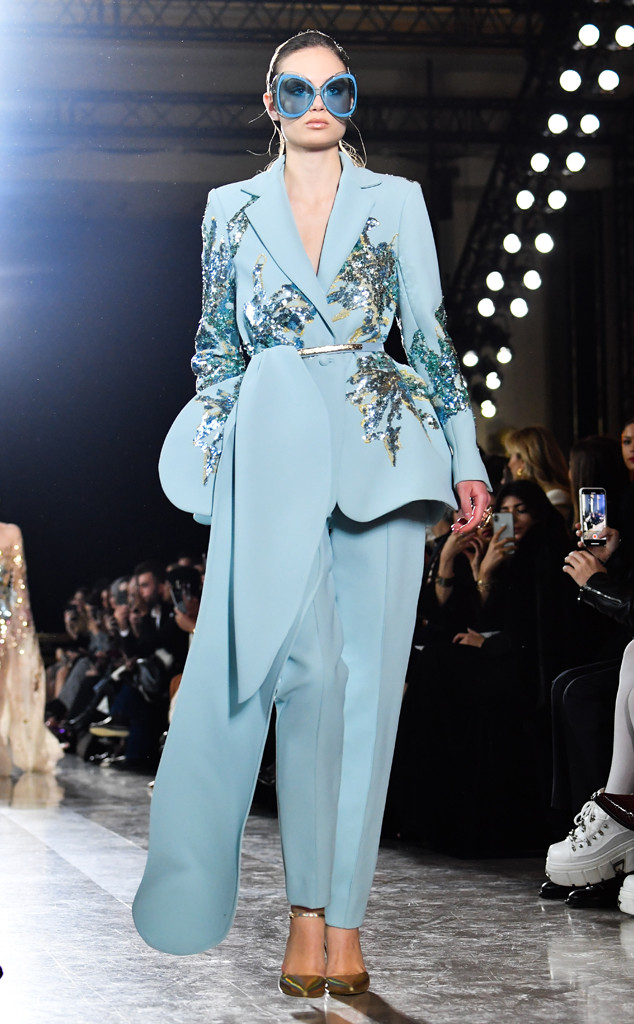 Paris Fashion Week Best Looks, Elie Saab