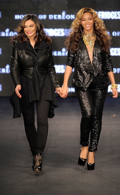 Beyonce, Tina Knowles, House of Dereon, celeb fashion lines