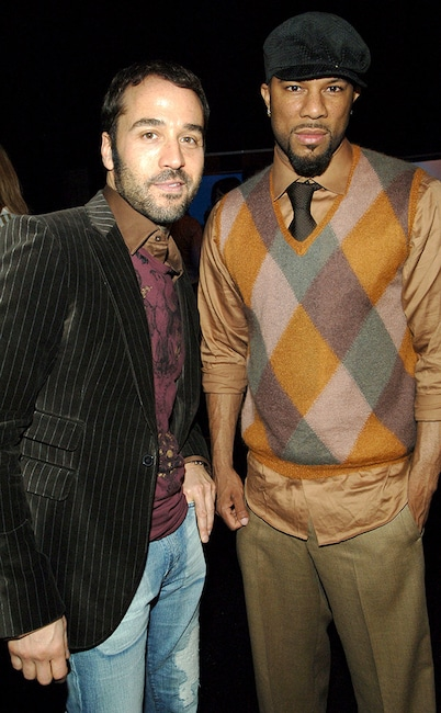 Jeremy Piven, Common, Soji, celeb fashion lines