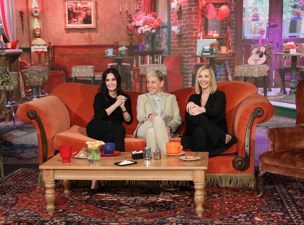 Friends Reunion, Lisa Kudrow, Courteney Cox, Ellen DeGeneres Show