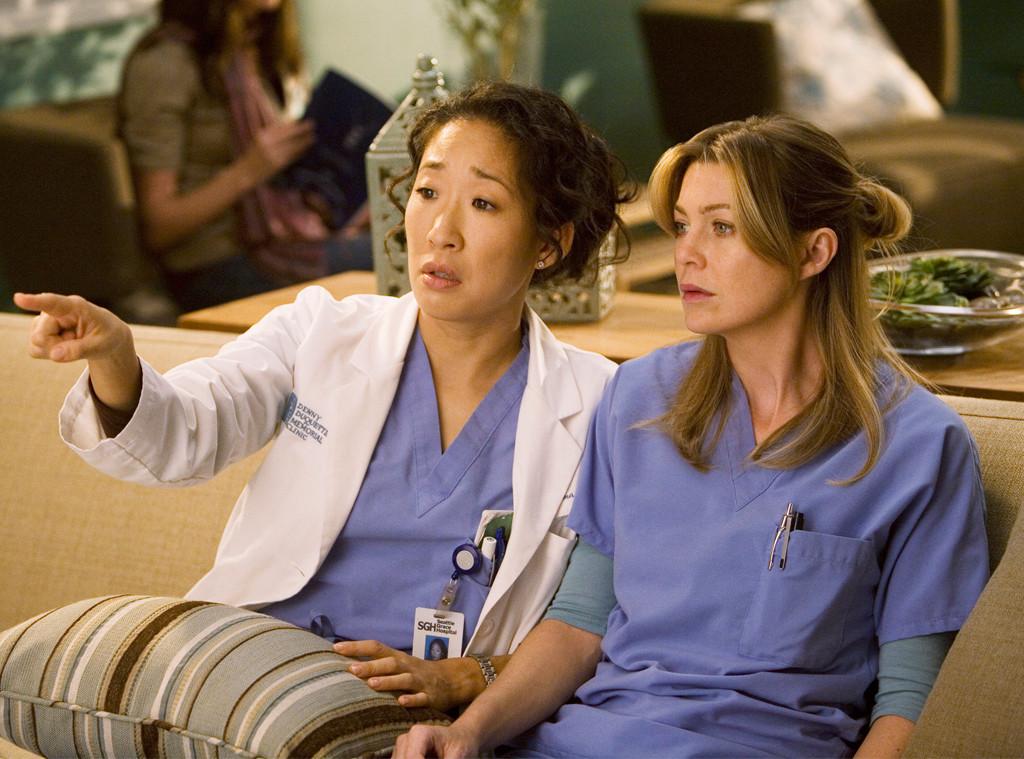 Sandra Oh, Ellen Pompeo, Grey's Anatomy