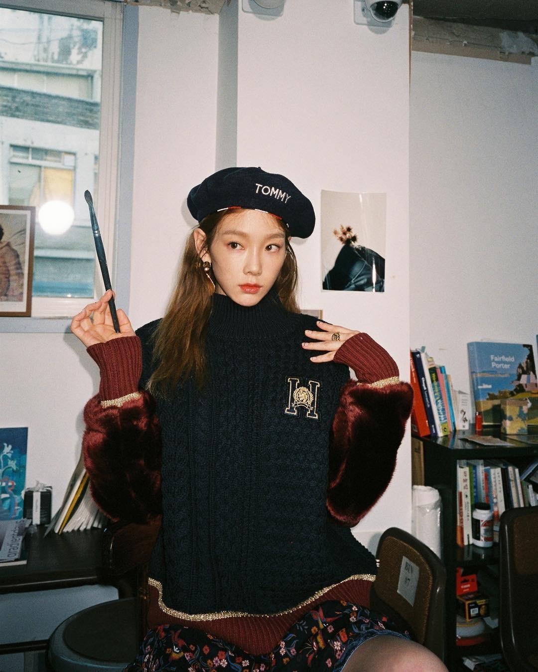Taeyeon, Celeb Beret Trend