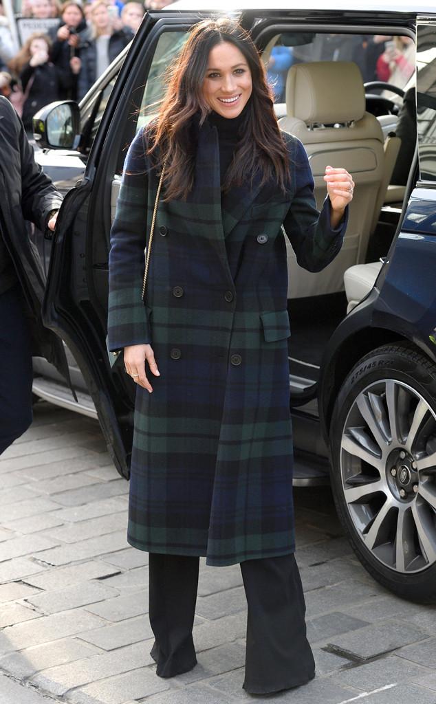 Meghan Markle, Scotland, Outfit