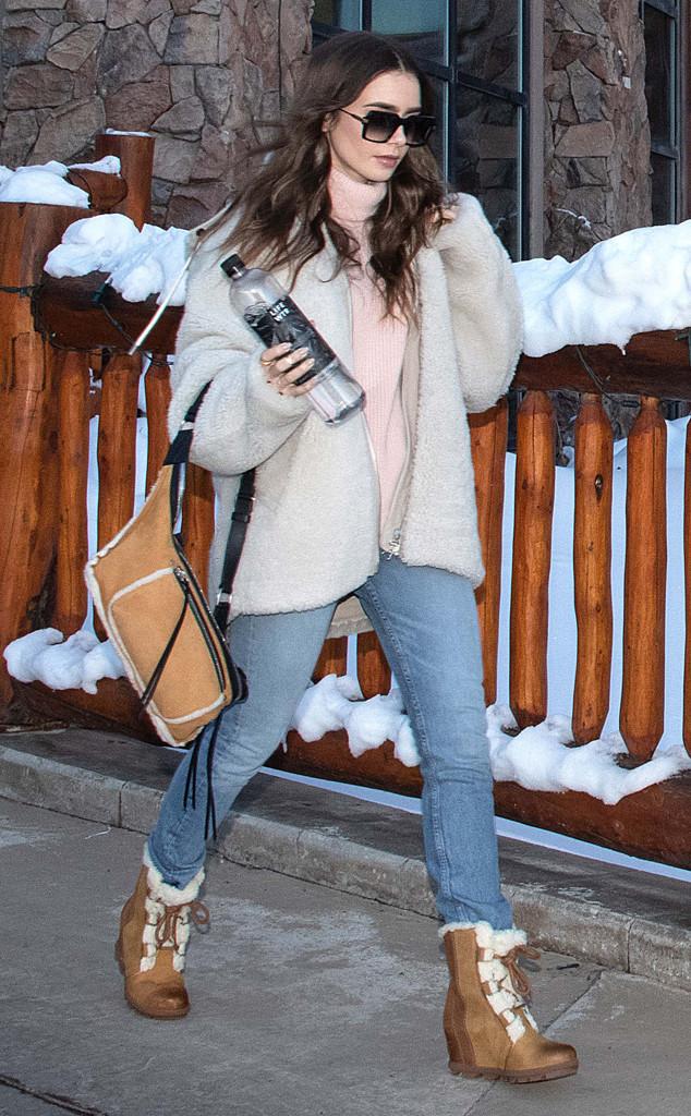 Lily Collins, 2019 Sundance Film Festival