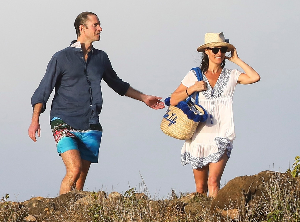 Pippa Middleton, James Matthews, Saint Barts