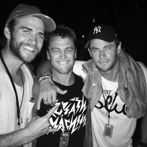 Liam Hemsworth, Luke Hemsworth, Chris Hemsworth