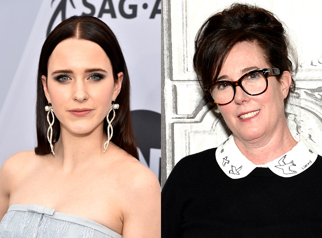 Rachel Brosnahan And David Spade Pay Tribute To Kate Spade On 1st Anniversary Of Her Death E Online