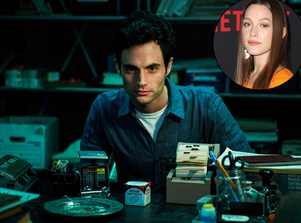 Victoria Pedretti, Penn Badgley, You