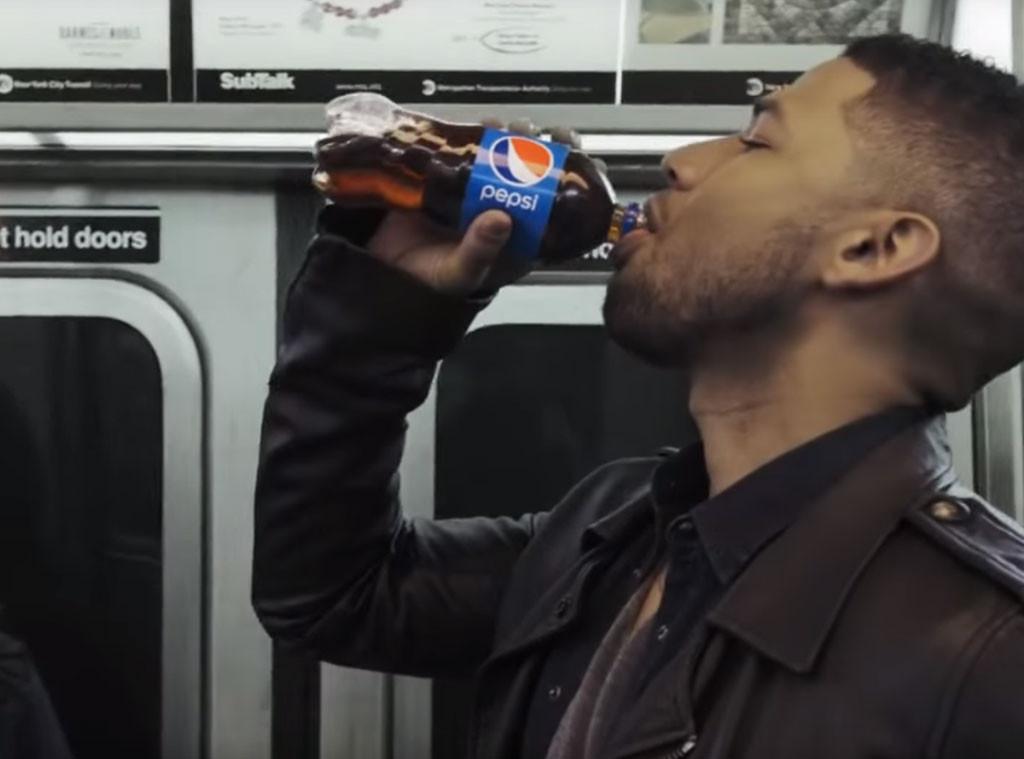 Jussie Smollett Pepsi Commercial 2015