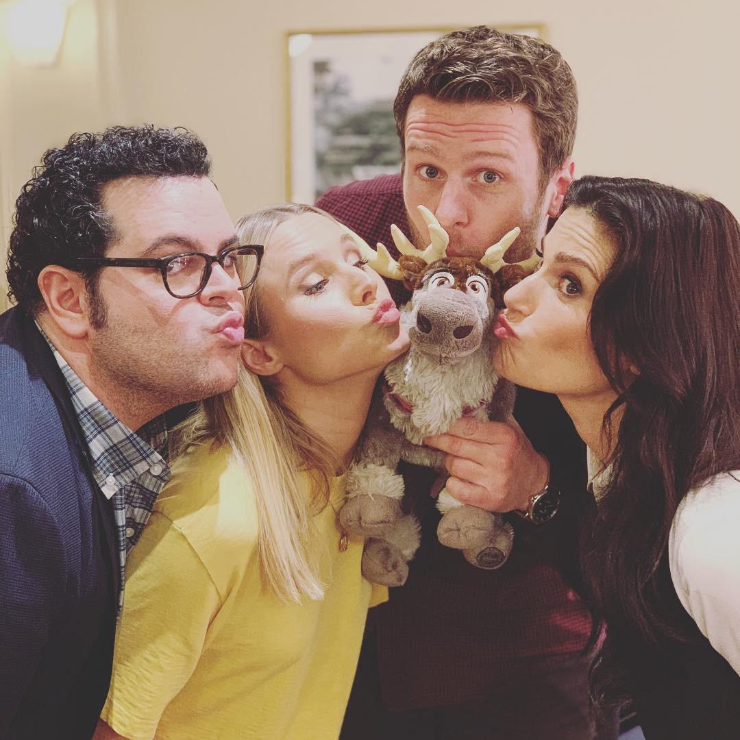 Kristen Bell, Josh Gad, Jonathan Groff, Idina Menzel, Frozen 2