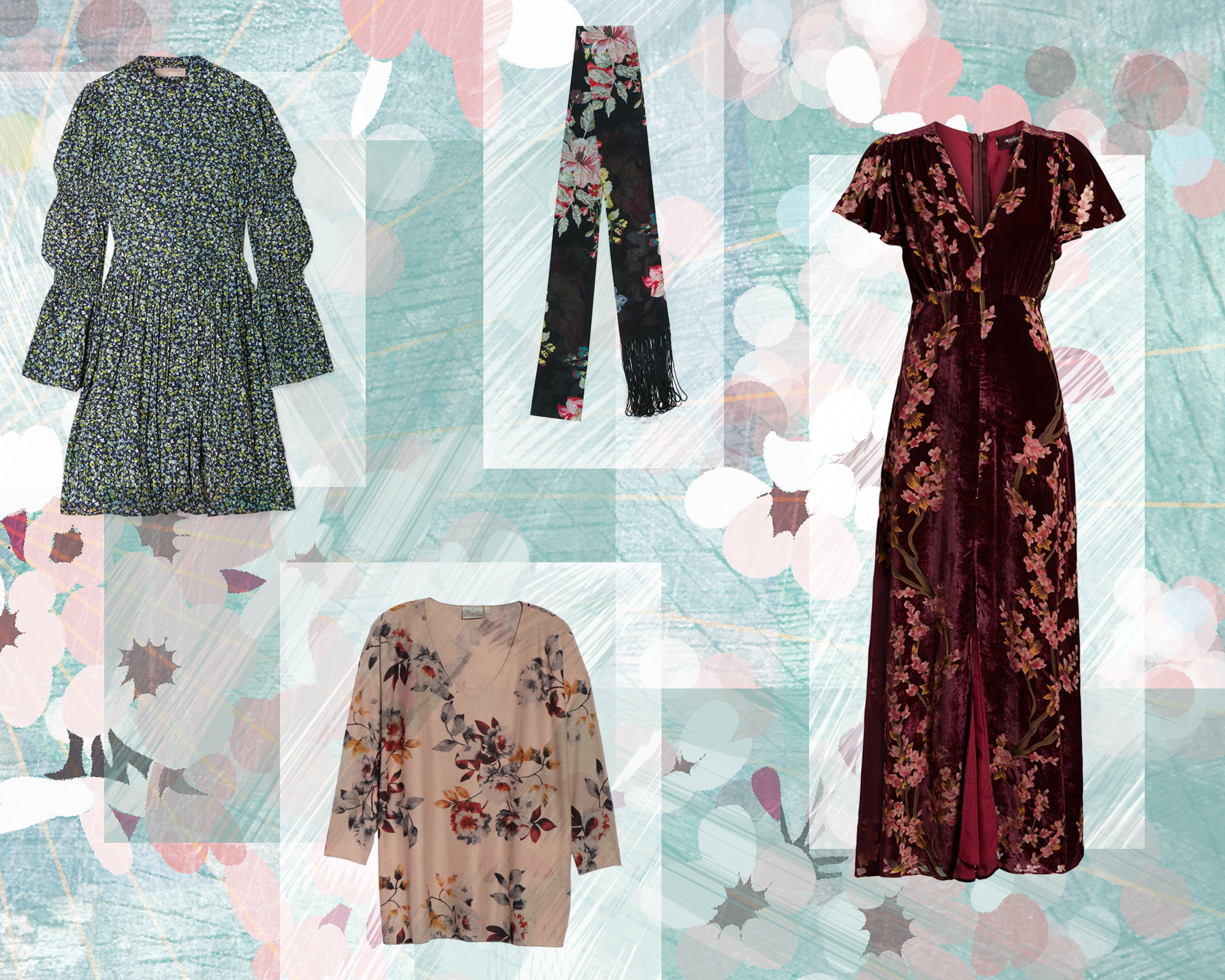 E-Comm: Winter Florals Under $100