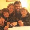 Shakira, Gerard Pique, Sasha, Milan