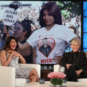 Priyanka Chopra, Ellen DeGeneres