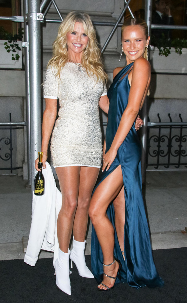 Lookalike Celeb Kids From Fashion Week, Christie Brinkley, Sailor Lee Brinkley-Cook