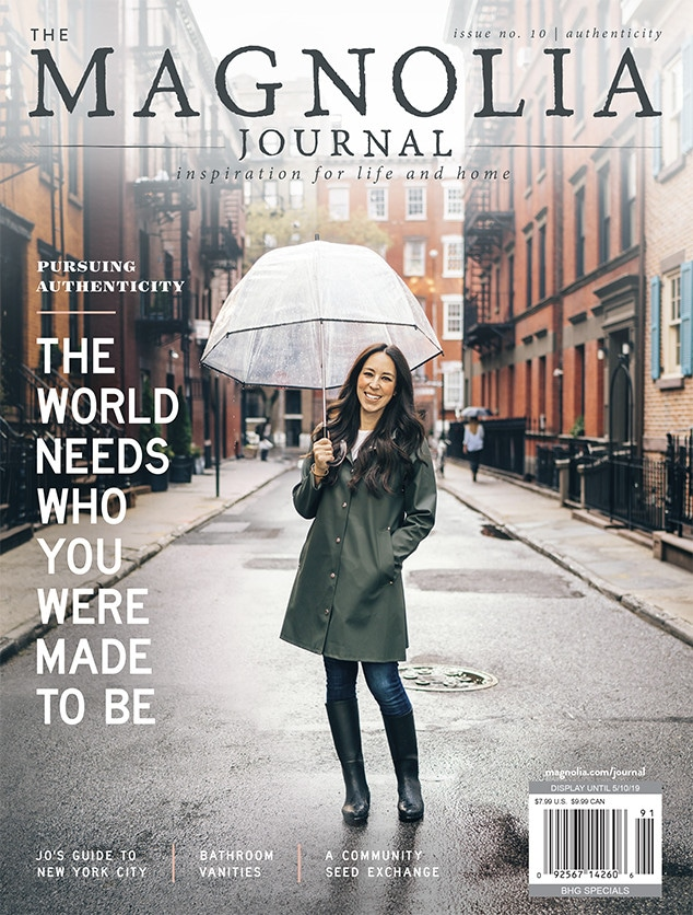 Joanna Gaines, Magnolia Journal, Cover, Spring 2019