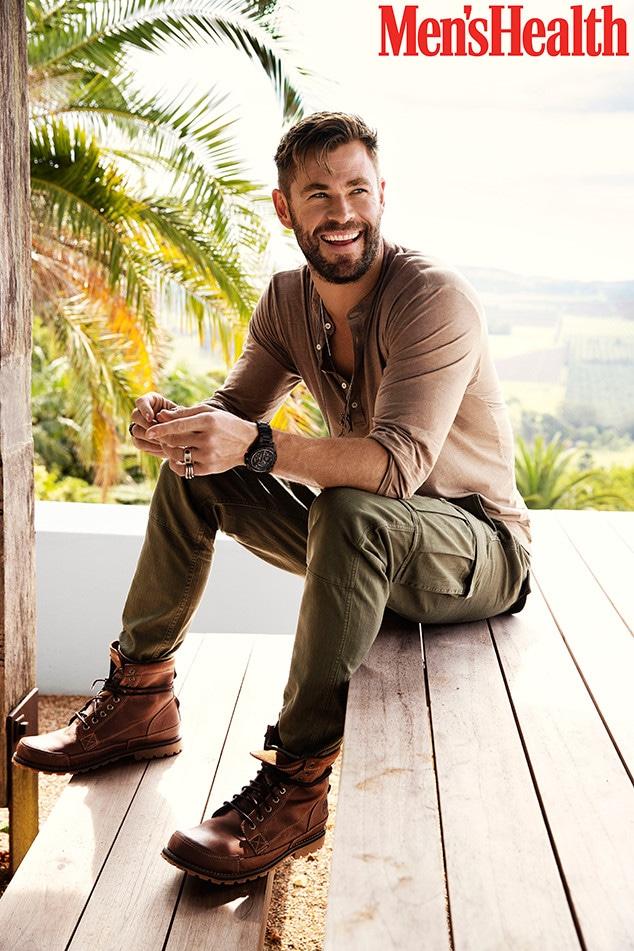 Chris Hemsworth, Men's Health
