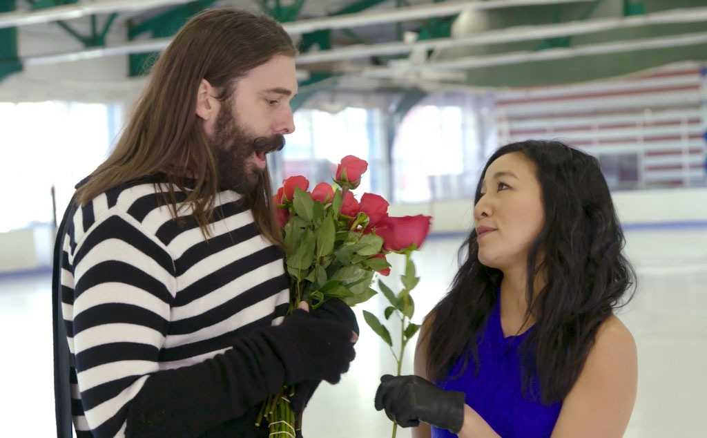 Jonathan Van Ness, Michelle Kwan