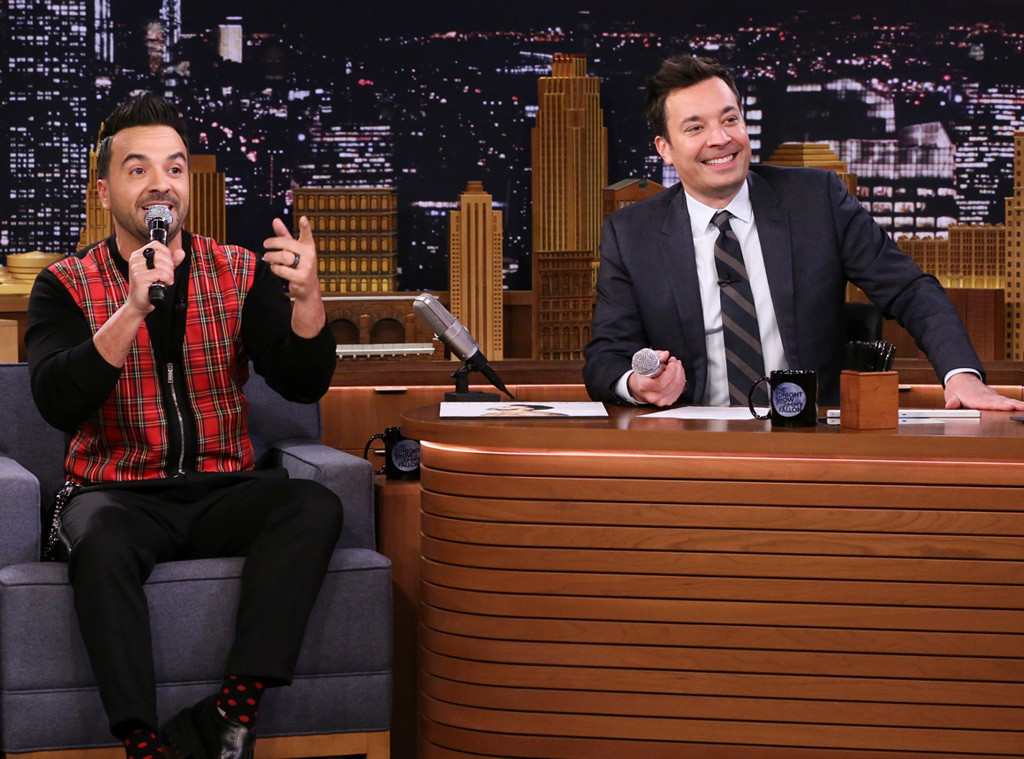 Jimmy Fallon, Luis Fonsi, The Tonight Show