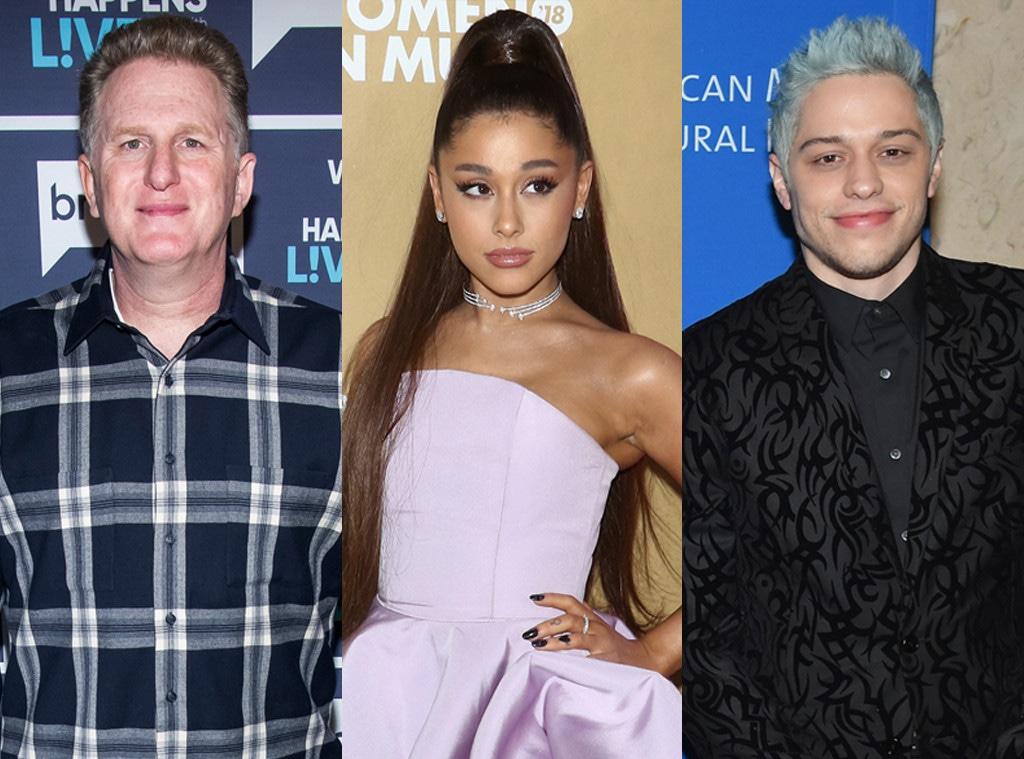 Michael Rapaport, Ariana Grande, Pete Davidson