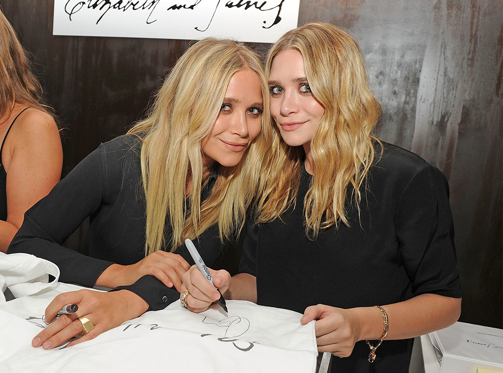 From Child Stars To Style Icons See Mary Kate Ashley Olsen S Fashion Week Appearances Over The Years E Online