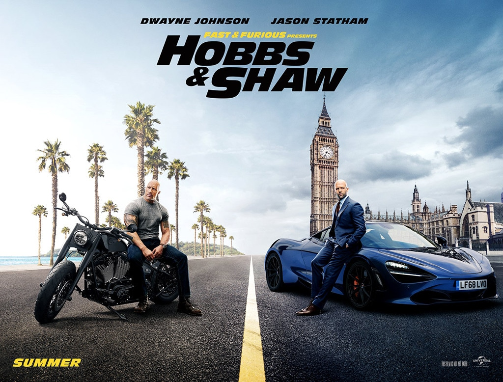 Dwayne Johnson, Jason Statham, Fast & Furious Presents: Hobbs & Shaw