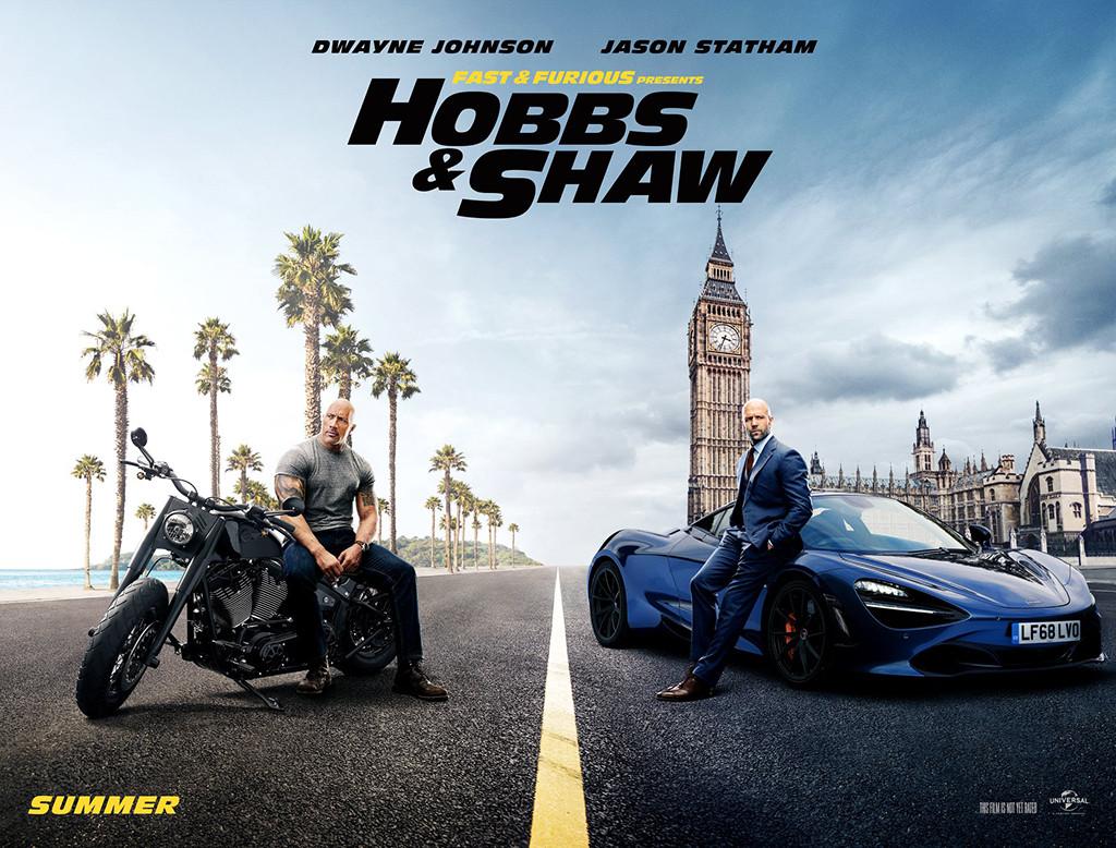 Dwayne Johnson, Jason Statham, Fast & Furious Presents: Hobbs & Shaw
