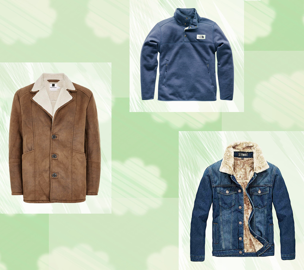E-Comm: Sherpa Jackets Dudes Will Love