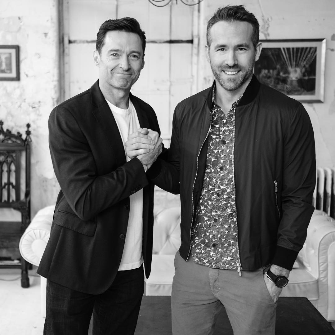 Hugh Jackman and Ryan Reynolds call