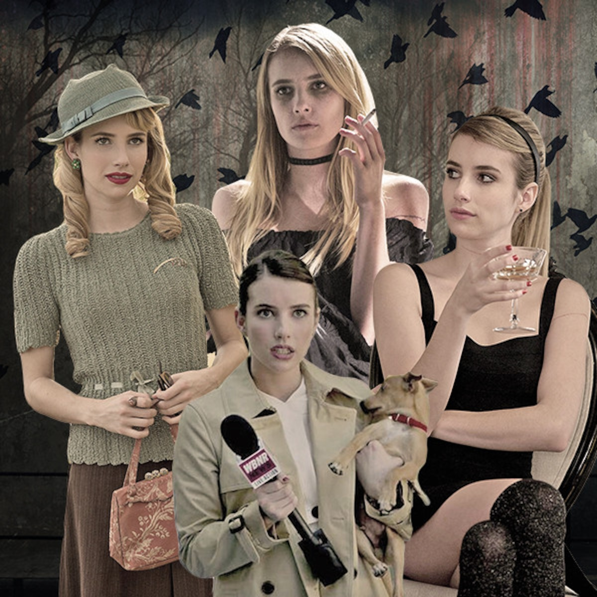 Which Of Emma Roberts Ahs Personas Do You Love E Online