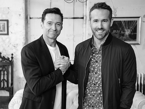 "Ryan Reynolds Reignites Feud With ""Evil Person"" Hugh Jackman"