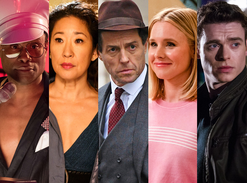 The Good Place, A Very English Scandal, Killing Eve, Bodyguard