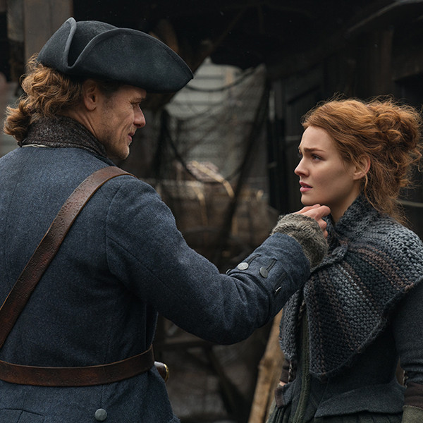 Outlander's Jamie and Brianna Share a Moment in Sneak Peek