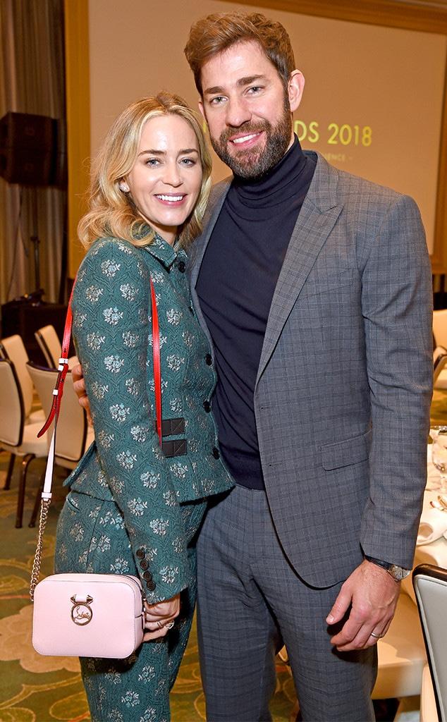 Emily Blunt, John Krasinski, AFI Awards Luncheon