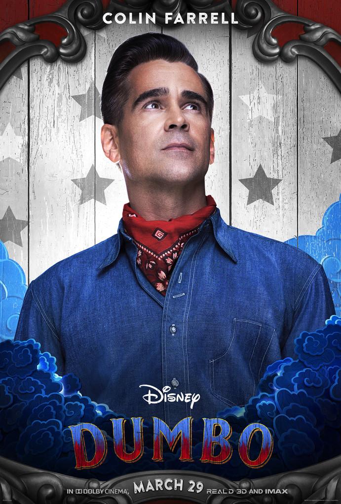 Dumbo Poster, Colin Farrell