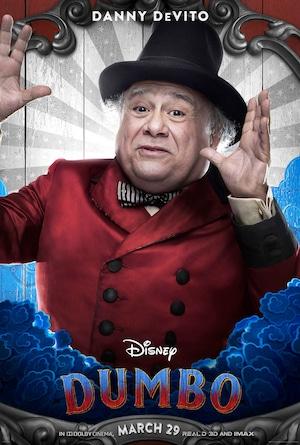 Dumbo Poster, Danny DeVito