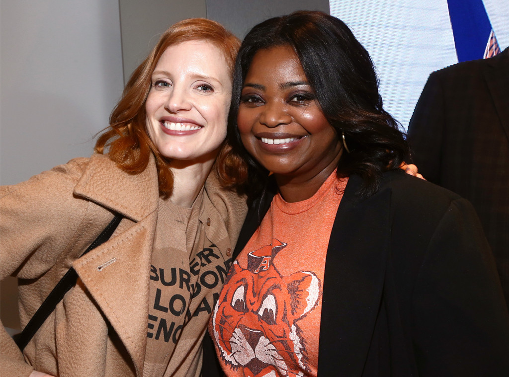 Jessica Chastain, Octavia Spencer, Gold Meets Golden 2019