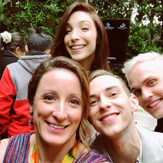 Tatyana McFadden, Meryl Davis, Adam Rippon