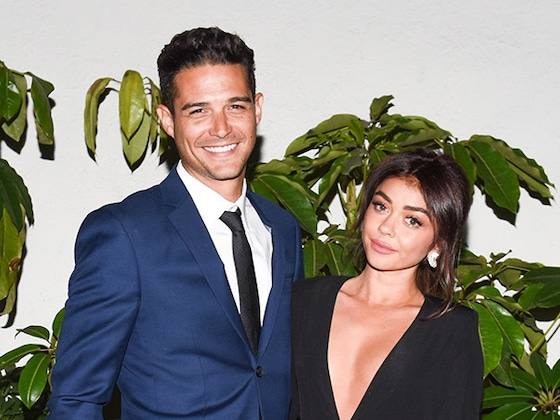 "Wells Adams Felt ""Too Much Pressure"" Before Proposing to Sarah Hyland—But Not Why You Think"