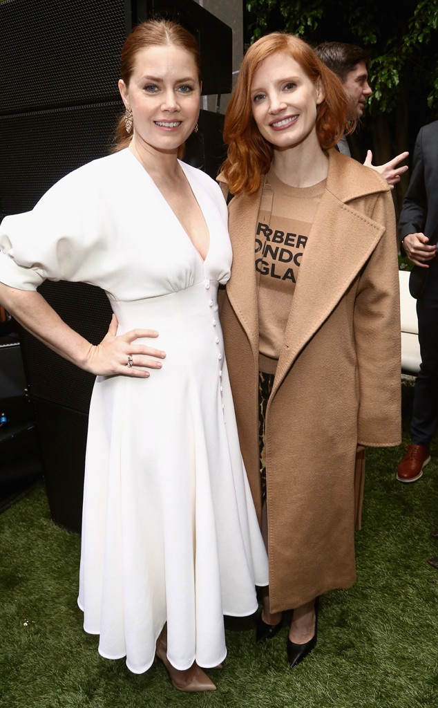 Amy Adams, Jessica Chastain, Gold Meets Golden 2019